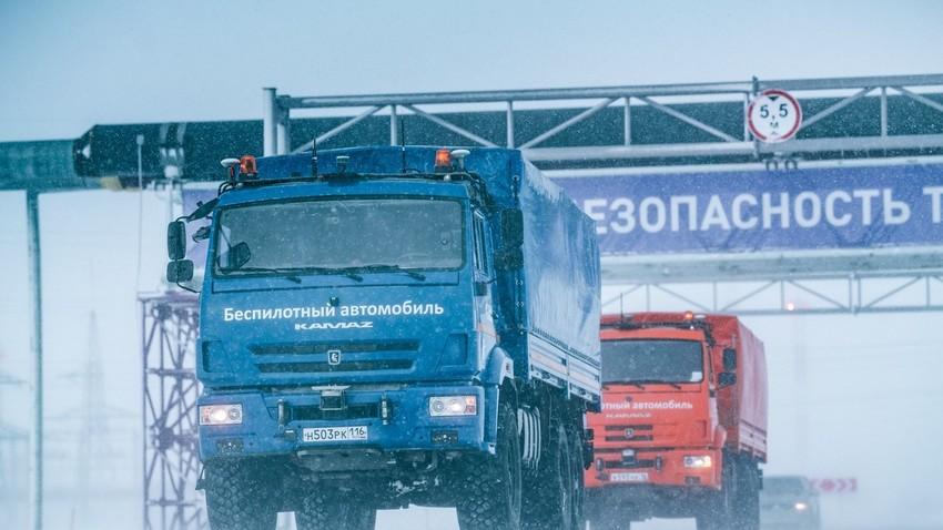 КамАЗ на Арктику тестирао камионе без возача