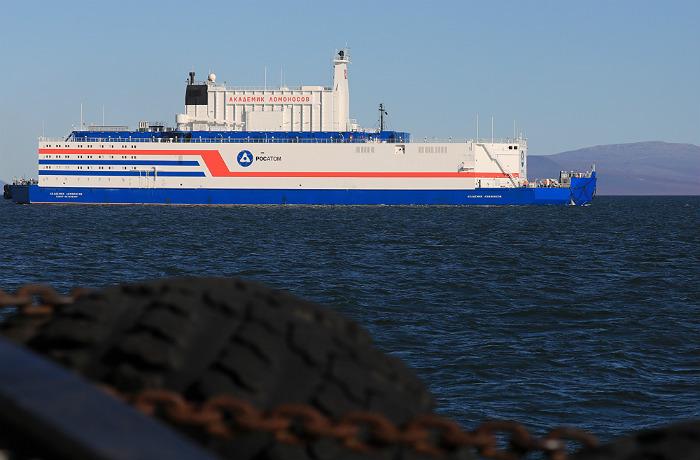 """Прва пловећа нуклеарна електрана на свету """"Академик Ломоносов"""" званично почела са радом"""