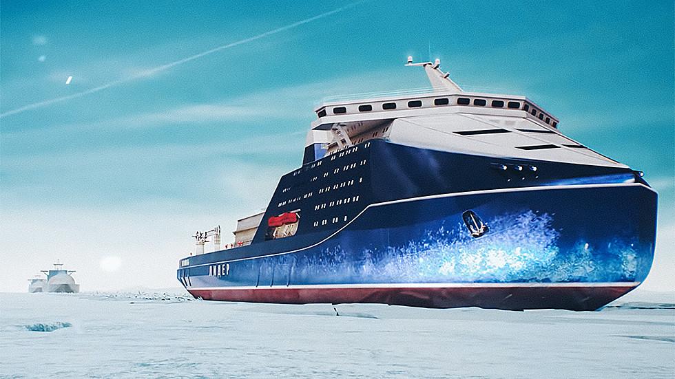 РТ: Русија почиње са градњом највећег и најмоћнијег нуклеарног ледоломца за пловидбу Арктичким морем