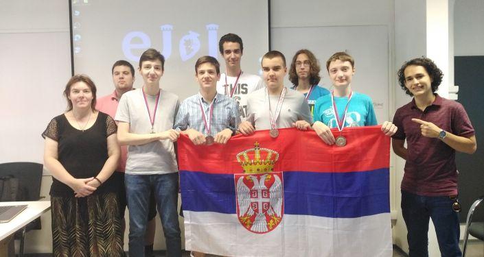 Млади србски математичари освојили пет медаља на Балканској јуниорској математичкој олимпијади