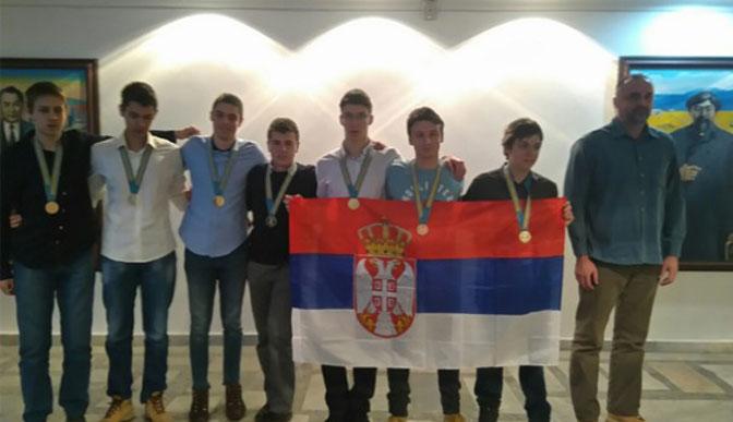 Ученици Математичке гимназије освојили пет златних и две бронзане медаље