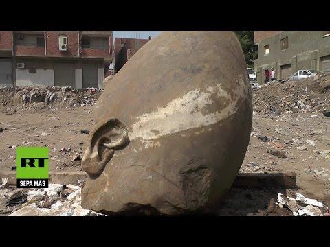 Археолози у Египту пронашли велику статуу Рамзеса II