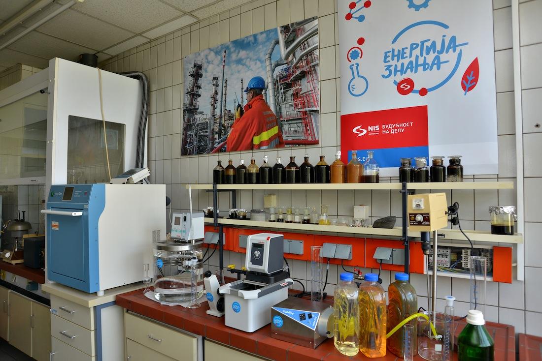 На Технолошком факултету у Новом Саду отворена лабораторија за нафтно-петрохемијско инжењерство