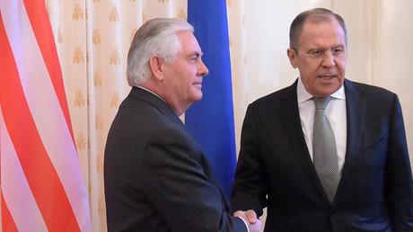 Лавров и Тилерсон разговарали о напорима на деескалацији ситуације у Сирији
