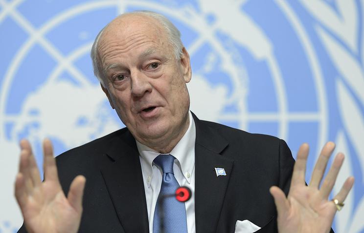 Мистура: Све делегације долазе у Женеву на преговоре о Сирији
