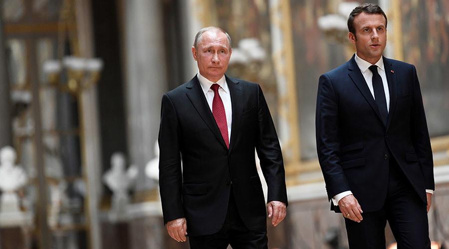 Макрон: Преговори са Путином помогли да Русија и Француска постигну напредак око Сирије