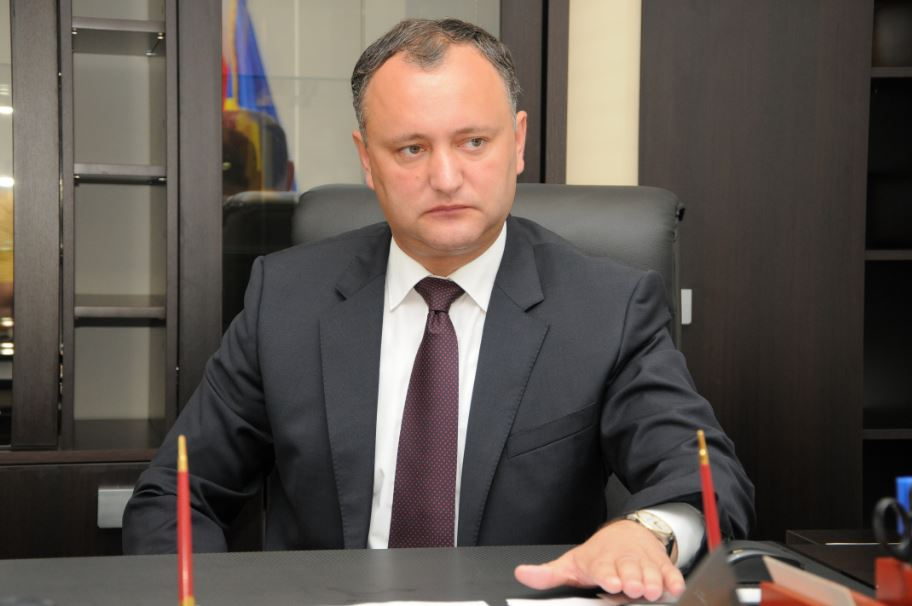 Dodon: Pojedine snage na Zapadu zainteresovane da se razvije sukob u Pridnjestrovlju