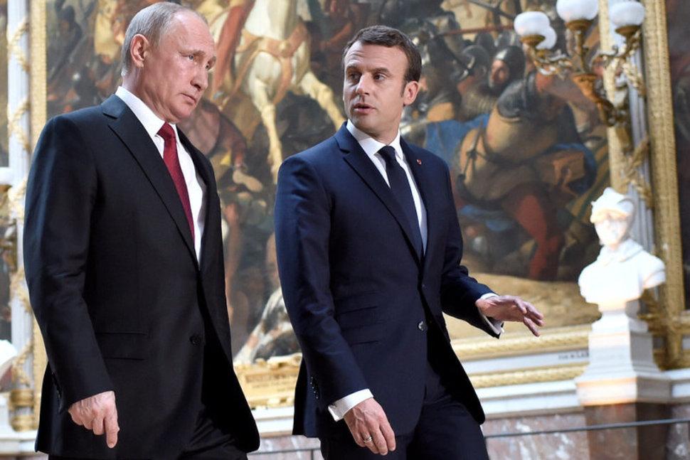 Makron poziva lidere Rusije, Nemačke i Ukrajine da razgovaraju o situaciji u Donbasu