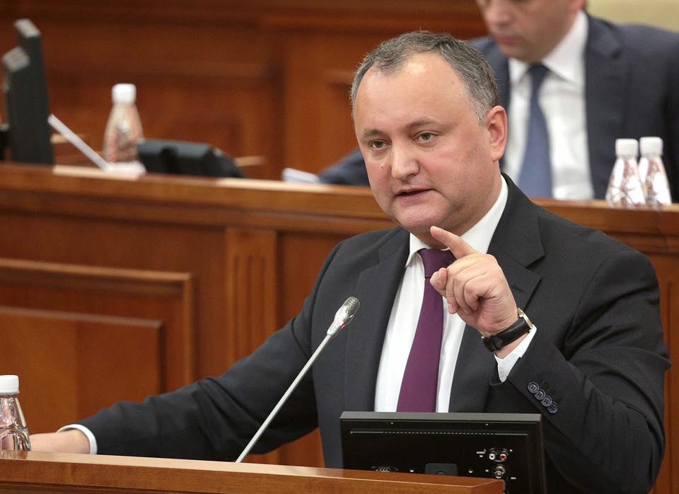 Додон: Визни режим са Русијом је провокација