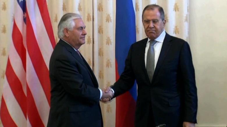 Лавров и Тилерсон разговарали о ситуацији у Сирији