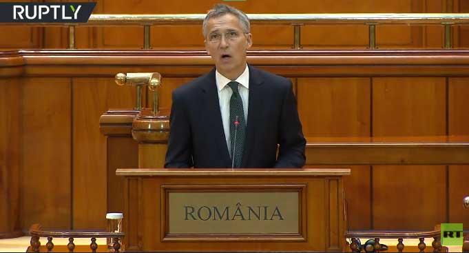 Столтенберг: Распоређивање НАТО снага је одговор на руску агресију у Украјини