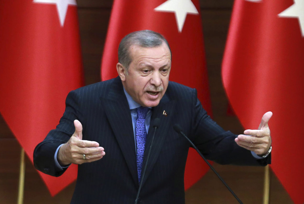 Ердоган: Не могу САД да сматрам цивилизованом државом