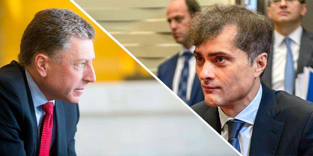 Сурков и Волкер сагласни да би споразум из Минска требало применити