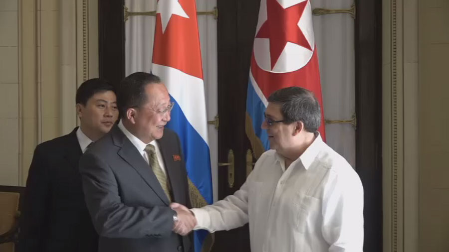 РТ: Куба Северна Кореја заједнички против