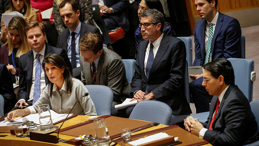РТ: САД-у неће држати предавање земље које немају кредибилитет у израелско-палестинском питању - Хејлијева