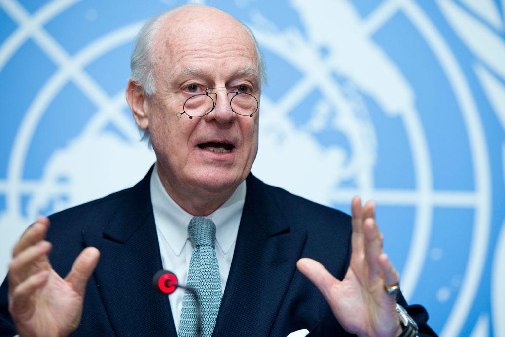 Мистура: Две недеље мировних преговора о Сирији завршиле без напретка