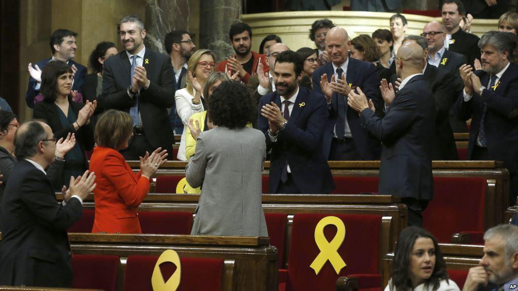 Нови каталонски парламент изабрао председника који се залаже за отцепљење