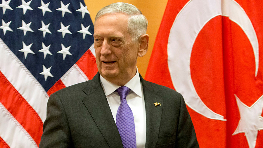 РТ: Турска нас је обавестила пре напада на Курде - Матис