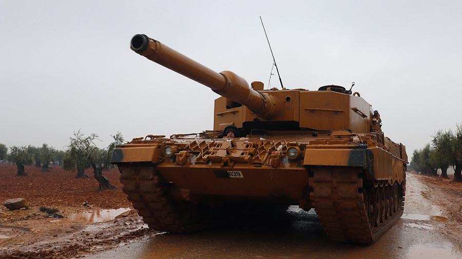"""РТ: Турска ће """"спречити игре"""" дуж својих граница почевши од Манбија у Сирији - Ердоган"""