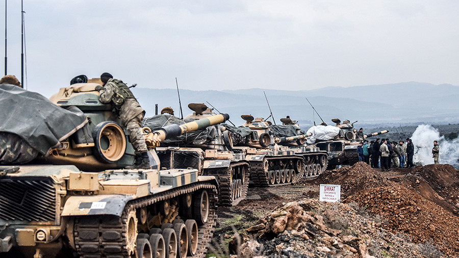 РТ: САД морају престати подржавати терористе да би избегле сукоб са Турском у Сирији - Анкара