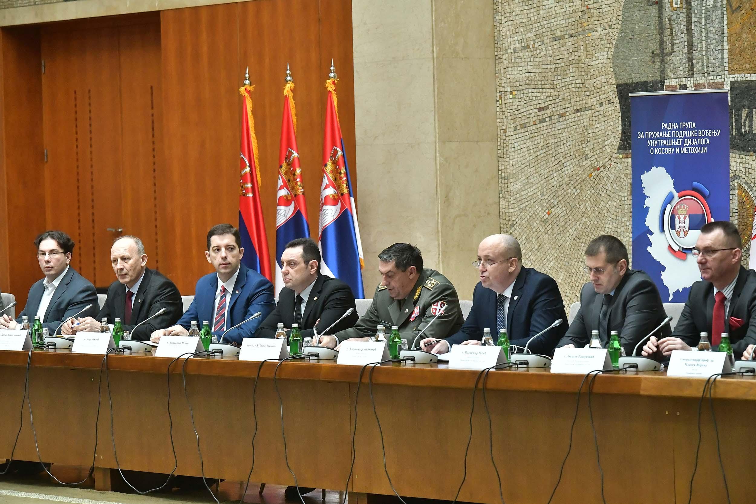 Vulin: Rešavanje srbskog nacionalnog pitanja nećemo prepustiti evropskim birokratama