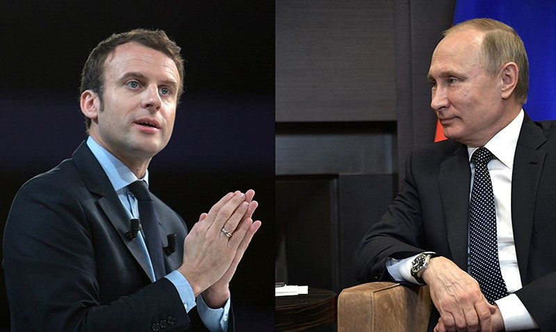 Макрон прихватио позив Путина да посети Русију