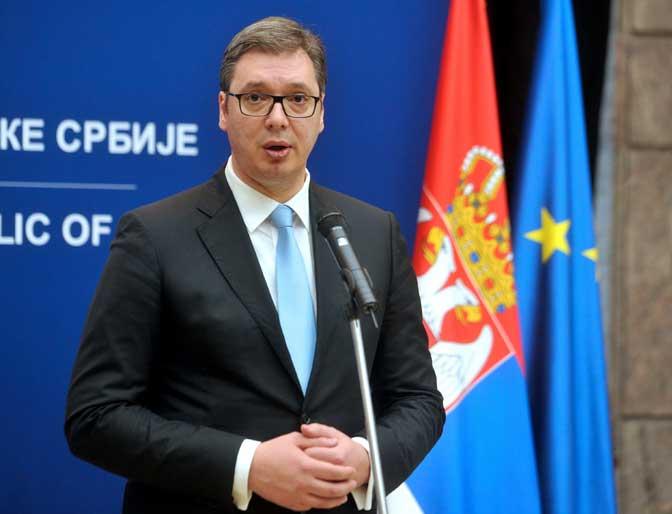 Вучић: Tешко да би Срби признали независно Косово у замену за чланство у ЕУ