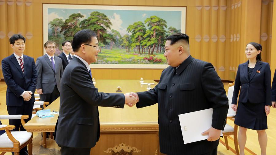 """РТ: Ким Џонг Ун постигао """"задовољавајуће договоре"""" са делегацијом Јужне Кореје"""