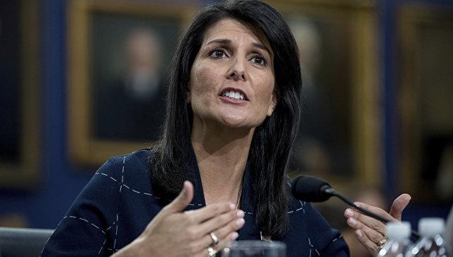 Хејлијева: САД и пријатељи неће толерисати непримерено понашање Русије