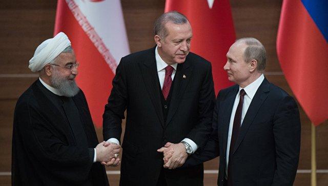 Русија, Иран и Турска подржавају суверенитет и територијални интегритет Сирије