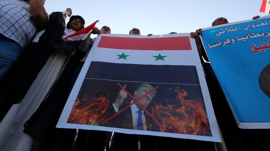 РТ: САД, Француска и савезници не треба да оду из Сирије, морају изградити нову - Макрон