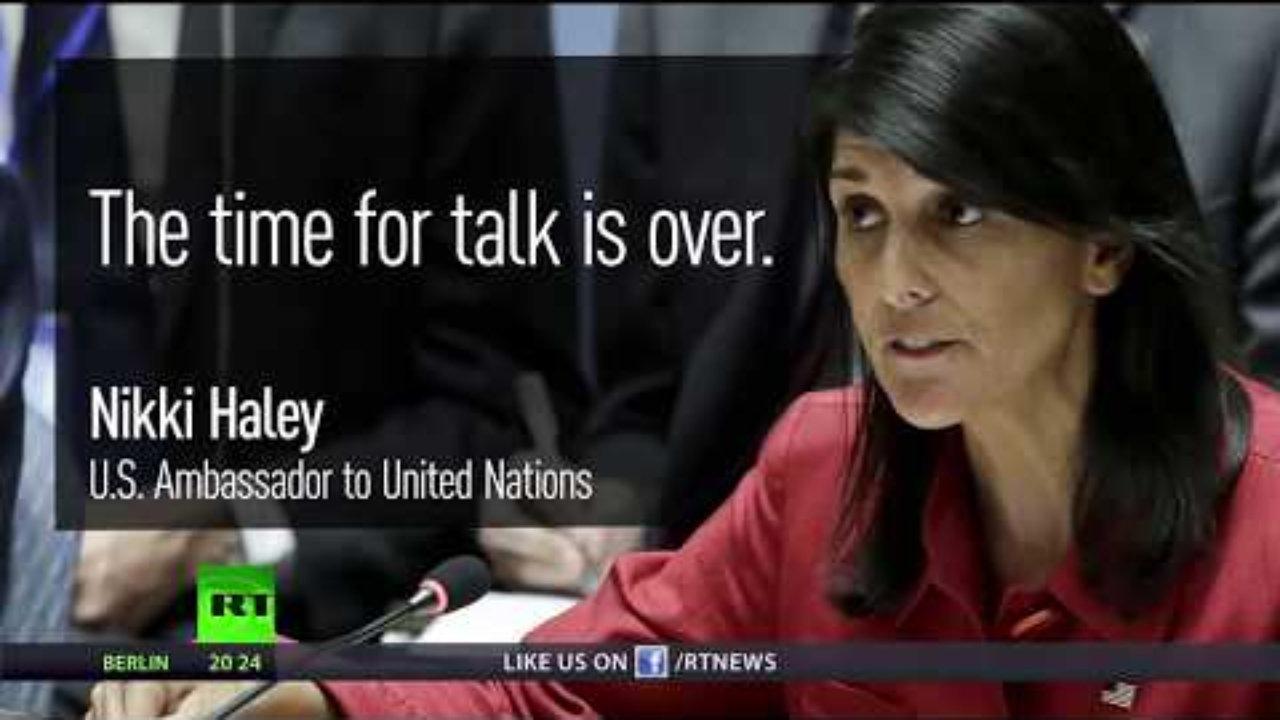Хејлијева: Нико не жели рат, али и то је једна од опција