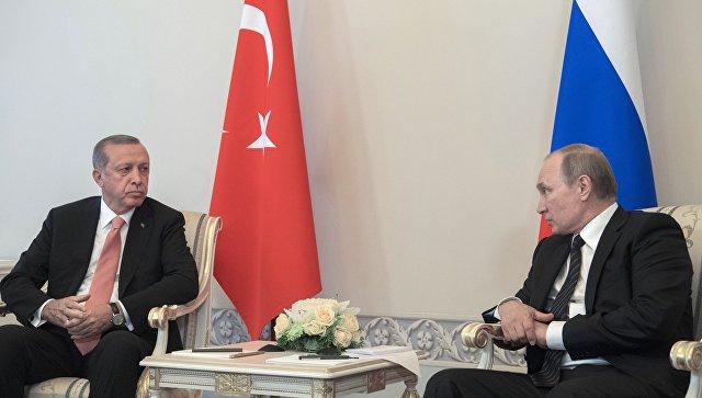 Путин и Ердоган разговарали о ситуацији у Сирији и о изласку САД из нуклеарног споразума