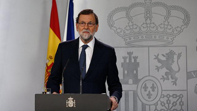 Рахој планира да задржи директну управу централне владе Шпаније над Каталонијом