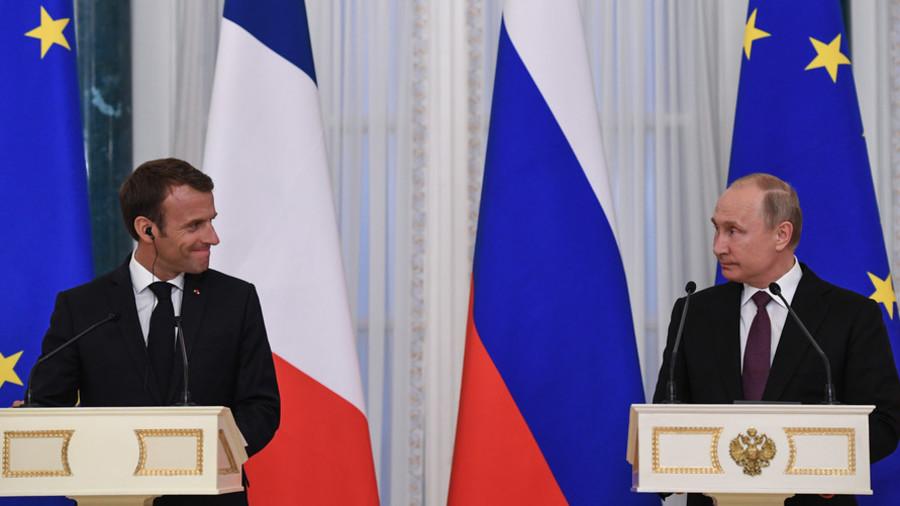 РТ: Француска препознаје нову улогу Русије у међународним односима - Макрон