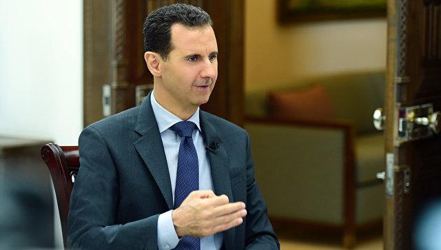 Асад саопштио да ће посетити Сирију