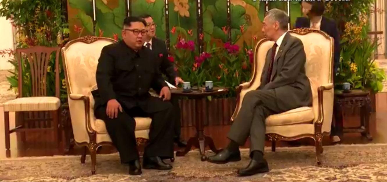 Ким Џонг Ун се састао са премијером Сингапура