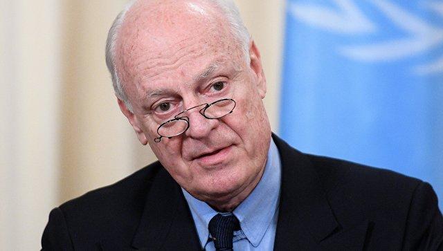 Мистура: САД ће се прикључити разговорима о формирању сиријског уставног комитета