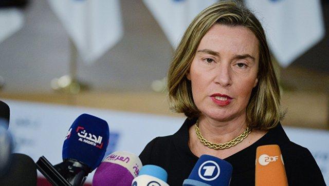 Могеринијева: Санкције Русији нису саме по себи циљ, оне су инструмент