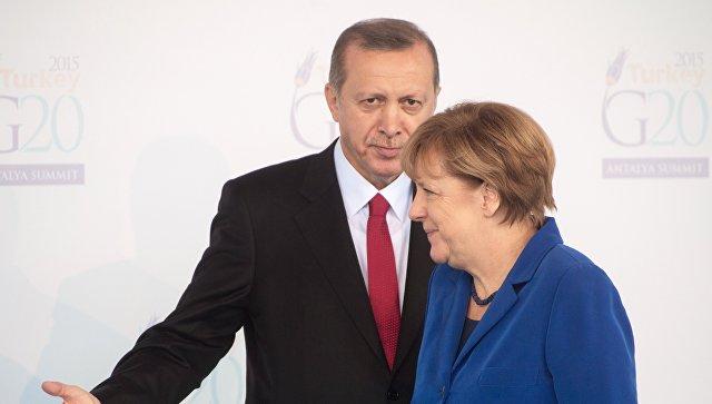 Меркелова честитала Ердогану на поновном избору за председника