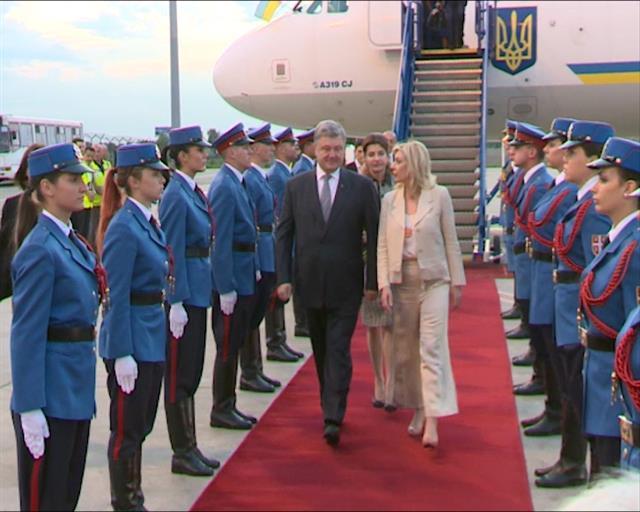 Порошенко у посети Србији