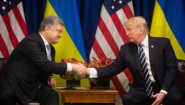 """Порошенко и Трамп """"пажљиво"""" разговарали о питањима """"Северног тока 2"""""""