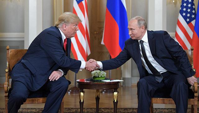 """Тамп оценио састанак са Путином """"добрим почетком за све"""