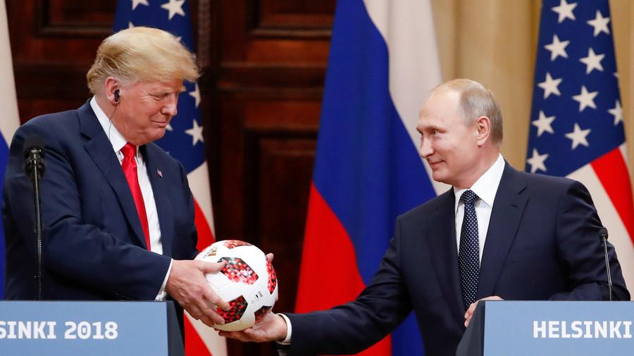 РТ: Састанак са Путином разљутио многе мрзце који су желели да виде боксерски меч - Трамп