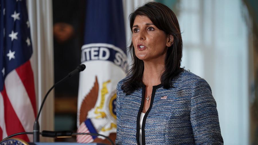 """РТ: Хејлијева назвала """"највећим неуспехом"""" Савет за људска права УН у настојању да оправда излазак САД"""