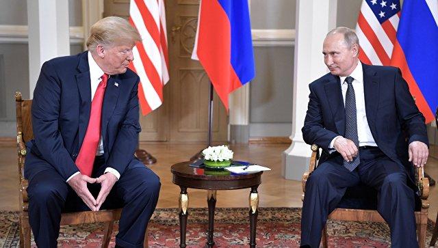 Трамп позвао Путиина да посети Вашингтон