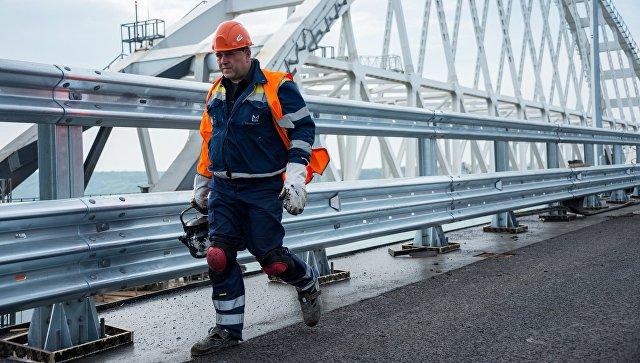 ЕУ увела санкције против шест руских компанија због изградње Кримског моста