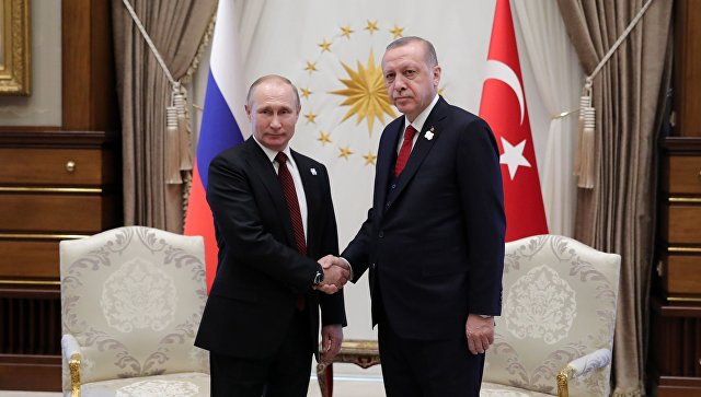 Путин и Ердоган разговарали о међусобним односима и ситуацији у Сирији