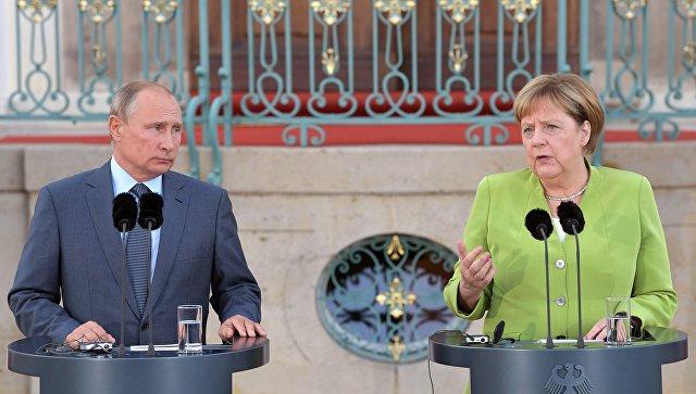 Меркелова поздравила договор Путина и Ердогана о демилитаризованој зони у Идлибу