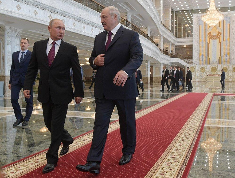 Лукашенко и Путин разговарали о дејствима НАТО-а у близини граница Белорусије